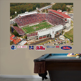 Ole Miss Stadium Mural Wall Decal