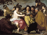 Triumph of Bacchus Wall Decal by Diego Velázquez