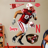 Ndamukong Suh Nebraska Wall Decal