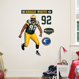 Reggie White Jr. Wall Decal