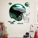Philadelphia Eagles Throwback Helmet Wall Decal