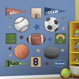 Sports Collection Wall Decal