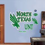 North Texas University Logo Wall Decal
