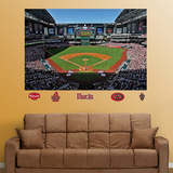 Arizona Diamondbacks Chase Field Stadium Mural   Autocollant mural
