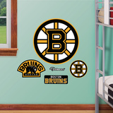 Boston Bruins Logo Jr. Autocollant mural