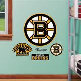 Boston Bruins Logo Jr. Muursticker