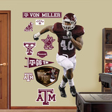 Von Miller Texas A&M   Wall Decal