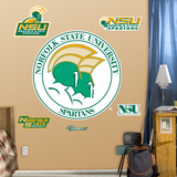 Norfolk State University Logo Wall Decal