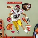 Clay Matthews USC   Wall Decal