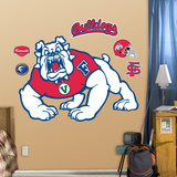 Fresno State University Logo Wall Decal