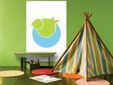 Lime Bird Nest Affiches par  Avalisa