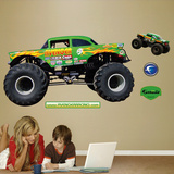 Avenger Monster Truck Wall Decal