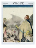 Vogue Cover - April 1922 Regular Giclee Print by Henry R. Sutter