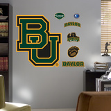"Baylor University ""BU"" Logo Wall Decal"