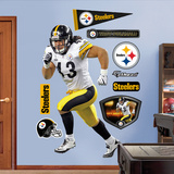 Troy Polamalu 2011 Edition White Mode (wallstickers)