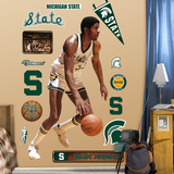 Magic Johnson MSU Mode (wallstickers)