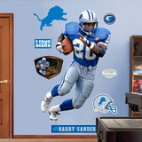 Barry Sanders Mode (wallstickers)