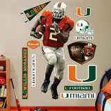 Willis McGahee Miami Wall Decal Wall Decal