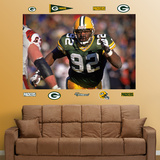 Reggie White Packers Mural Wall Decal