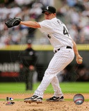 Jake Peavy 2012 Action Photo