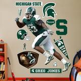 Greg Jones Michigan State  Wall Decal