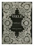Vogue Cover - October 1909 Regular Giclee Print