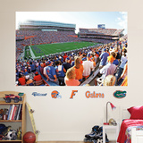 Florida Gators – The Swamp Stadium Mural   Wall Decal