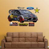 Brian Deegan Rally Car Wall Decal