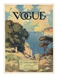 Vogue Cover - May 1909 Regular Giclee Print by David Peirson