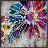 Floral Kick I Print by  Bridges