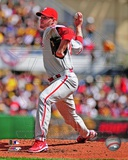 Roy Halladay 2012 Action Photo