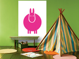 Fuschia Donkey Posters par  Avalisa