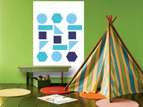 Cool Shapes Print by  Avalisa