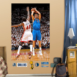 Dirk Nowitzki Finals MVP Mural Wall Decal