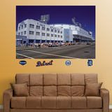 Tiger Stadium Exterior Mural Wall Decal