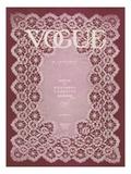 Vogue Cover - January 1909 Regular Giclee Print