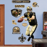 Drew Brees Wall Decal