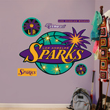 Los Angeles Sparks Logo   Wall Decal