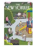 The New Yorker Cover - May 7, 2012 Regular Giclee Print by Chris Ware