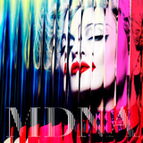 Madonna - MDNA Stretched Canvas Print