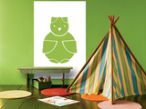 Green Owl Posters par  Avalisa