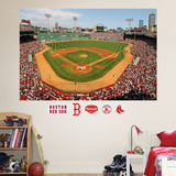 Boston Red Sox Fenway Park Stadium Mural   Wall Decal