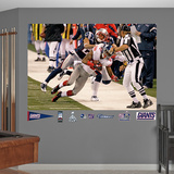 Mario manningham SB Sideline Catch Wall Decal