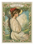 Vogue Cover - February 1906 Regular Giclee Print by Boardman Robinson