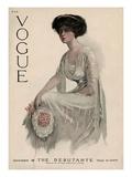 Vogue Cover - November 1909 Regular Giclee Print by Jean Parke