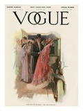 Vogue Cover - November 1908 Regular Giclee Print by Stuart Travis