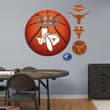 University of Texas Basketball Logo   Wall Decal