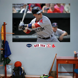 Dustin Pedroia Mural &#160; Wall Decal