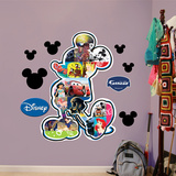 Mickey Mouse Movie Montage Wall Decal