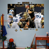 Drew Brees Dive Mural Wall Decal